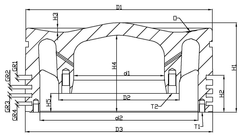 Inspection Piston Crown