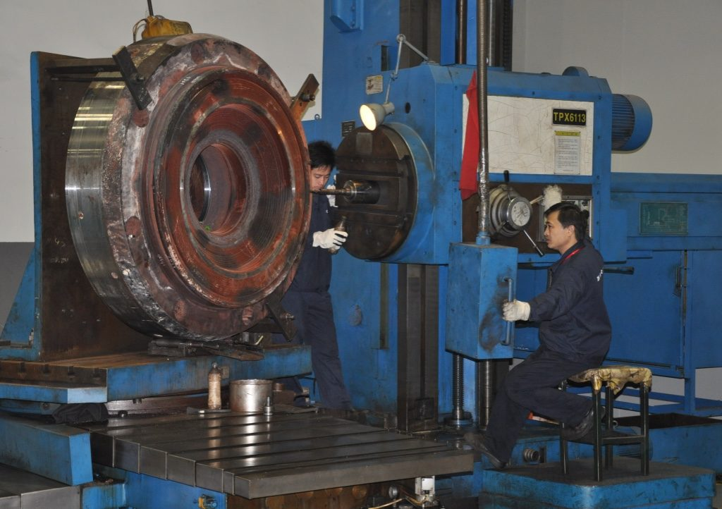 Drilling Cylinder Cover